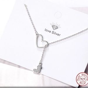 Jewelry - Sterling Silver Infinity Love Necklace.